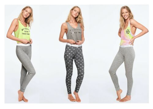 Details about  /Victoria/'s Secret Pink Sleep Tank and Leggings Set large