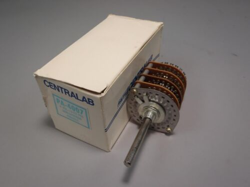 Centralab Rotary Switch Part Number PA-4007 New in Manufacturer/'s Packaging!
