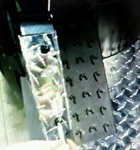 2012 thru 2016  CAN AM Commander Diamond Plate Aluminum door entry trim kit.