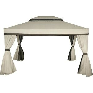Image Is Loading Authentic Mimosa Cairo Gazebo Cover Replacement CANOPY ONLY