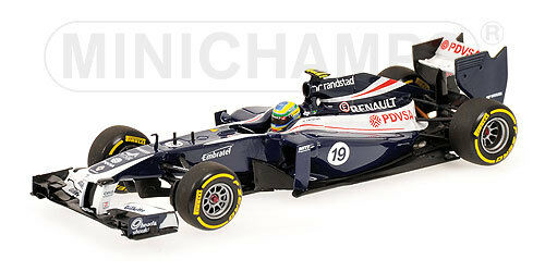 MINICHAMPS 410 120089 WILLIAMS F1 Show voiture Bcouriro  Senna 2012  Ltd Ed 1 43rd scale  abordable