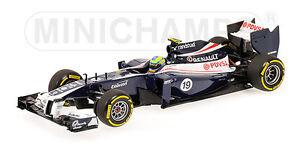 Minichamps 410 120089 Voiture de démonstration F1 Williams Bruno Senna 2012 Ltd Ed 1: 43ème