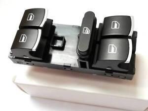 09-/> BOUTON COMMANDE DE LEVE VITRE VW Passat B7 10- VW Polo 6R
