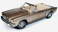 1965 Mustang Convertible PRAIRIE BRONZE 1:18 Auto World 1032