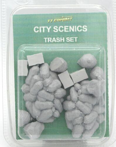 Terrain Garbage Bags Sacks Scenics TTCombat DCSRA005 Trash Set City Streets
