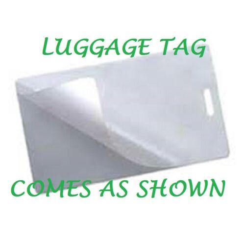 500 Luggage Tag 10 Mil Laminating Pouches Laminator W//Slot 2.5 x 4.25 Quality