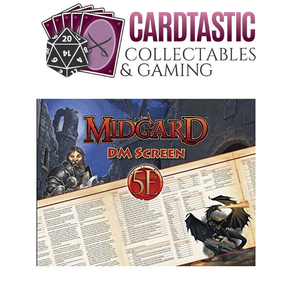 D&D Midgard Dungeon Master's (DM) Screen for 5th Edition