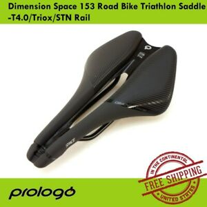 Prologo-Dimension-Space-153-Road-Bike-Triathlon-Saddle-T4-0-Triox-STN-Rail