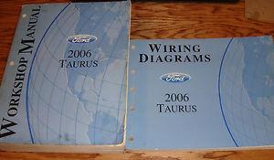 Original 2006 Ford Taurus Shop Service Manual + EVTM ...