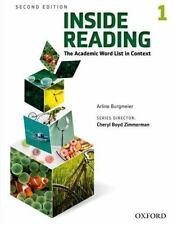 Inside Reading 2e Student Book Level 1 by Burgmeier, Arline
