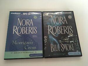 MP3-CD-Norah-Roberts-Morrigans-Cross-And-Blue-Smoke-unabridged