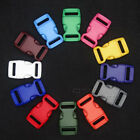 5/8'' Colorful Contoured Side Release Buckles For Paracord Bracelets