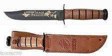 KA-BAR #9128 U.S.M.C. IRAQI FREEDOM COMMEMORATIVE FIGHTING UTILITY KNIFE