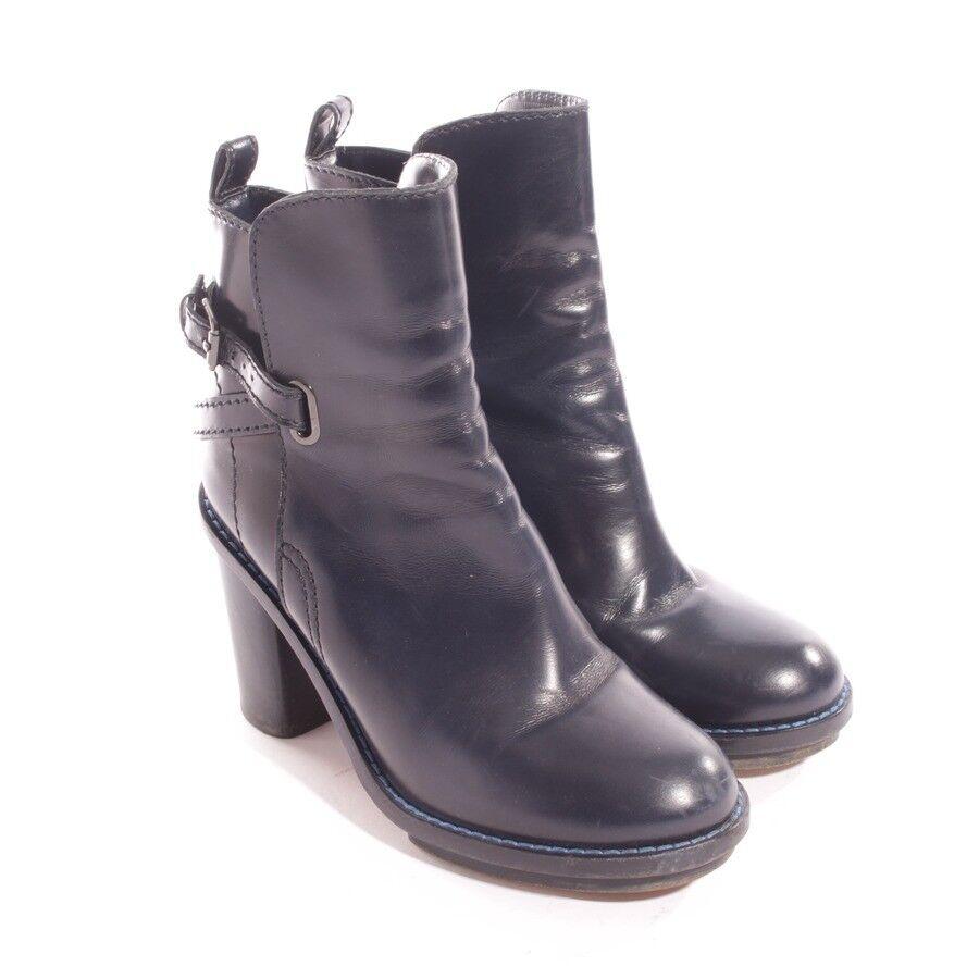 Grandes zapatos con descuento ACNE Stiefeletten Gr. D 39 Blau Damen Schuhe Cypress Boots Shoes High Heels