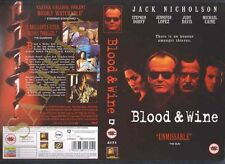 Blood And Wine, Jack Nicholson Video Promo Sample Sleeve/Cover #9285