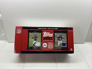 2007-Topps-Football-Complete-Set-Target-With-Bonus-Rookie-Jersey-Cards-440-Cards