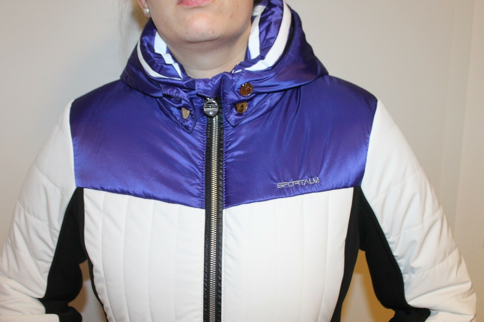 Sportalm Kitzbühel women Giacca da Sci Oxa blue Bianco black Tutte Taglie Nuovo
