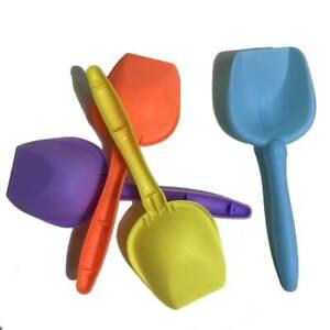 5pcs 17cm Shovel  Lightweight Spade Sand Dredging Beach Toys for Kids Children