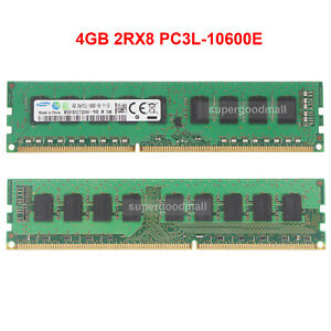 For-Samsung-4GB-2RX8-PC3L-10600E-DDR3-10600MHz-1-35V-ECC-Unbuffered-Memory-RAM