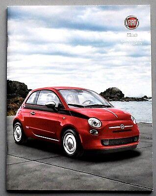 2014 2015 Fiat 500 Abarth USA Market Brochure  Prospekt