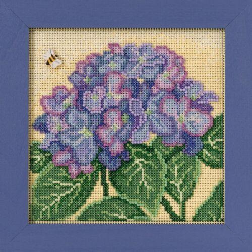 Hydrangea Cross stitch kit Mill Hill 2017 BOUTONS /& PERLES printemps MH141715