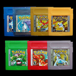 1-7-Pcs-Game-Cards-Carts-For-Nintendo-Pokemon-GBC-Game-Boy-Color-Version