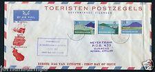 Nederlandse Antillen FDC E2_1 M ; met adres ;