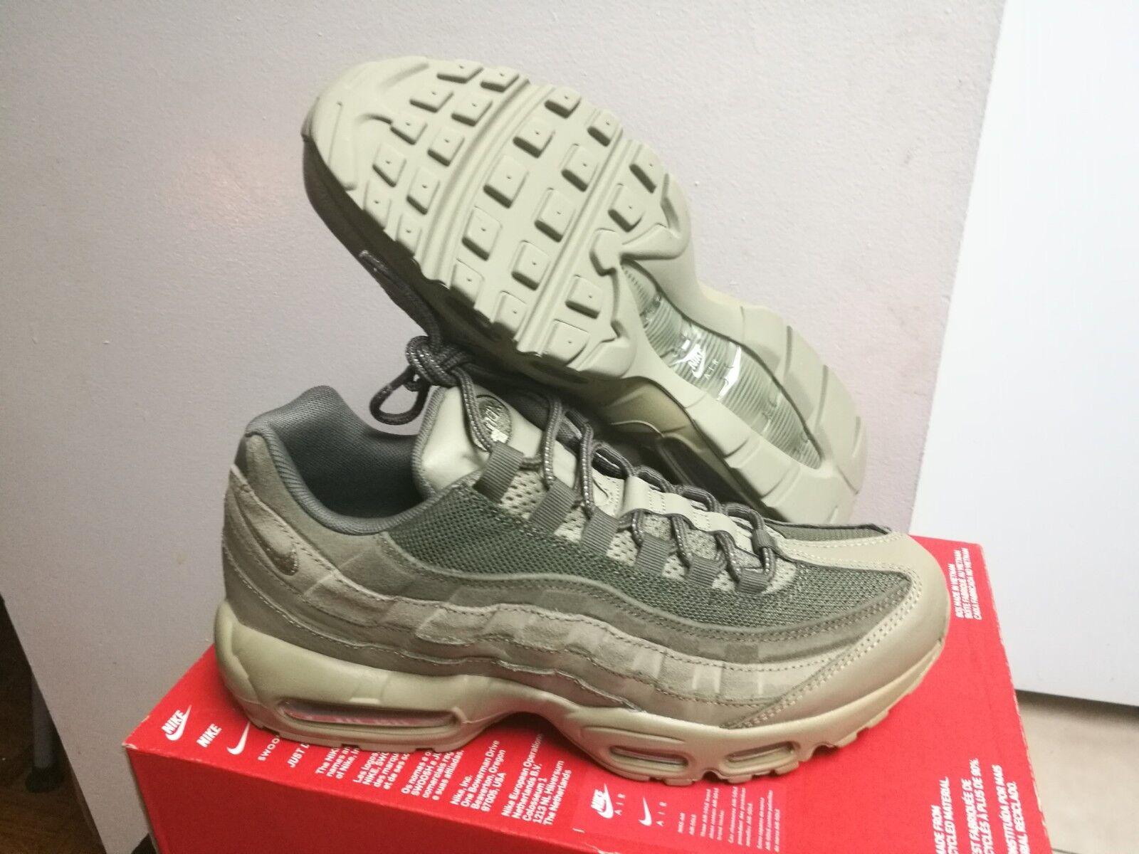 Nike Air Max 95 Premium PRM Neutral Olive Green Sz 11 538416 201