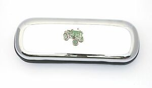 Green Tractor Enamel Motif Pen Case & Ball Point Tractor Gift FREE ENGRAVING zFsUqPas-09104847-432565173