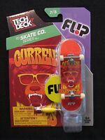 TECH DECK TD Skate Co. Curren Series 4 Fl!p 7/8 Finger board Display Stand