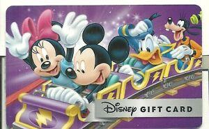 Carte cadeau mickey