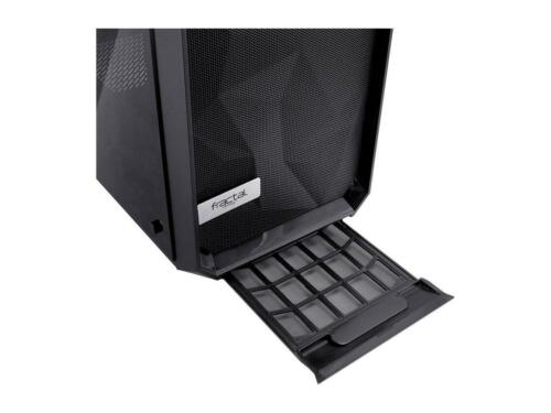 Fractal Design Meshify C Dark TG FD-CA-MESH-C-BKO-TG Black ATX Mid Tower Compu