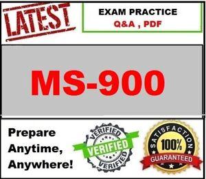 MS-900 Brain Exam