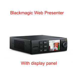 Original Blackmagic Web Presenter Webstreaming Live Webstreaming Pusher Sdi Hdmi Ebay