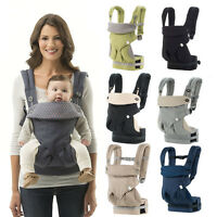 Safety Baby Ergo Carrier Infant 360 Four Position Kids Breathable Backpack