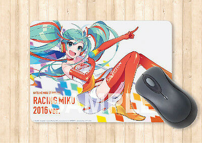 Mouse Pad A5 Size Hatsune Miku Racing 2016 Ver. Part 3 Japan