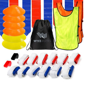 WYZworks 12 Player Flag Football Referee Set 12 Belts 36 Flags 6 ... ed1308fb4