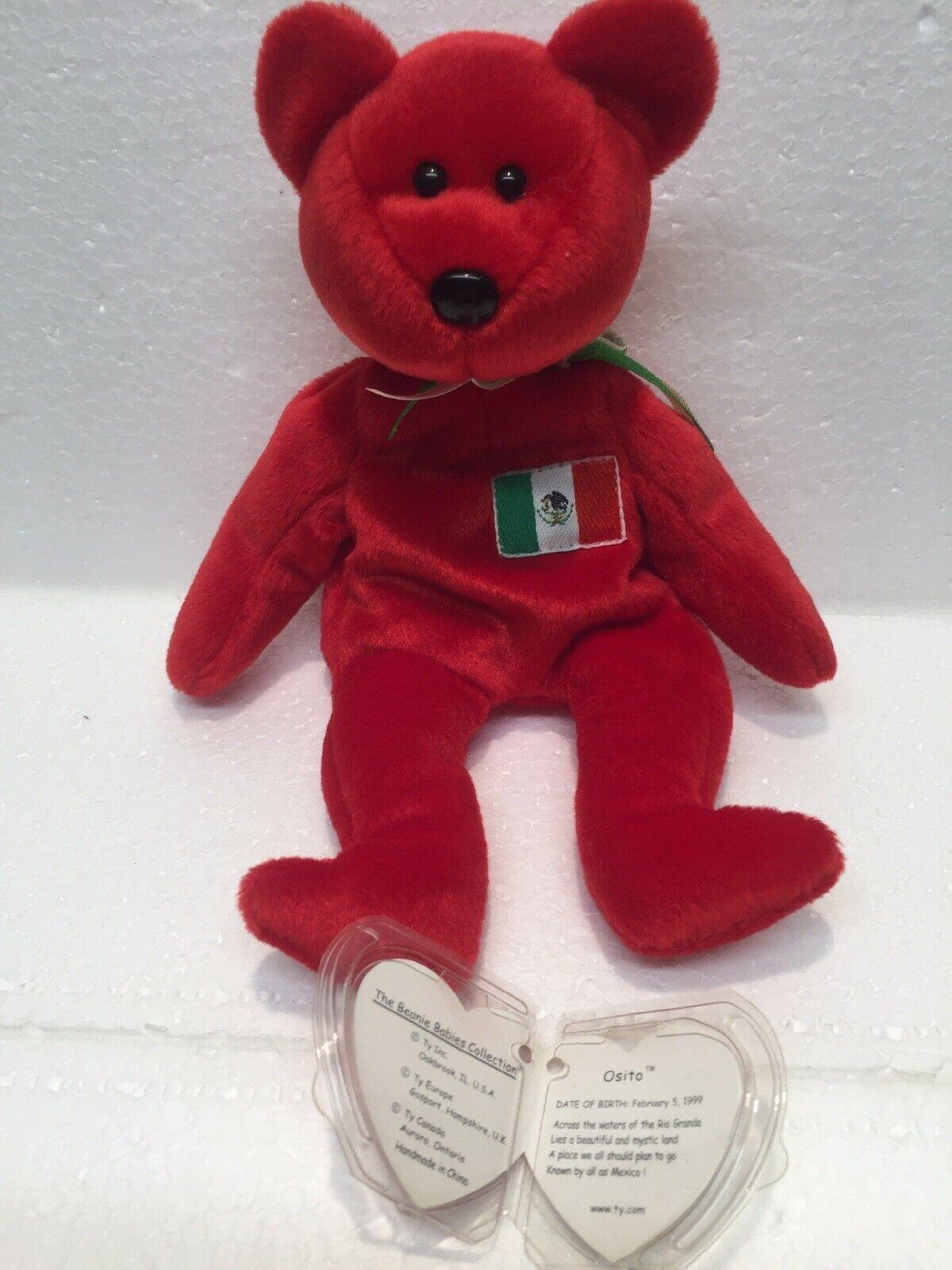 TY Beanie Baby - 1999 Osito Mexican Bear