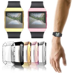super popular b1934 59f01 Details about Screen Protector Protective Case Cover for Fitbit Ionic  Accessories Smart Watch