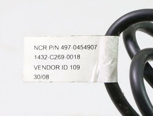 497-0454907 NCR Cash Drawer Cable for 2181-2105