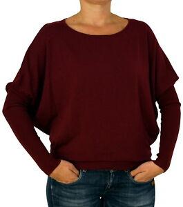 batwing S à tricoté rond L unique pour col taille Pull Nouveau manches femmes longues M 4xIfwEHP1q