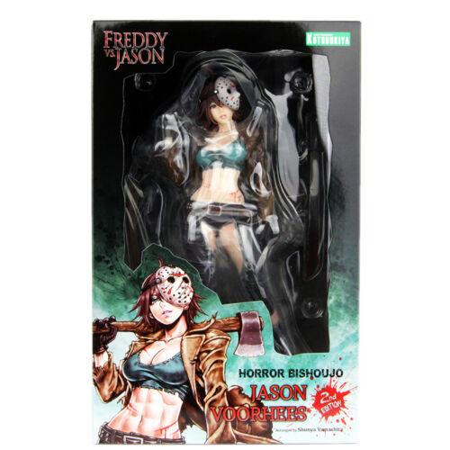 Kotobukiya Horror Bishoujo Freddy vs Jason Jason VOORHEES FIGURE 2nd Edizione