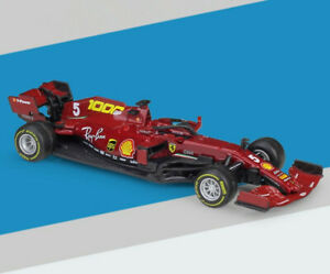 2020 Bburago Ferrari F1 Sf1000 Sebastian Vettel Charles Leclerc Diecast Car New Ebay