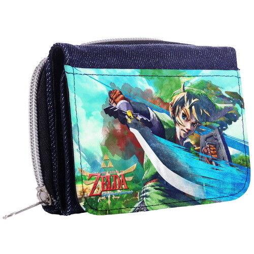Zelda Link Geldbörse Dreifach Faltbare Portemonnaie p8/_01 w2054