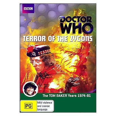 Doctor Who: Terror of the Zygons DVD 2 Disc Brand New Region 4 Aust. - Tom Baker