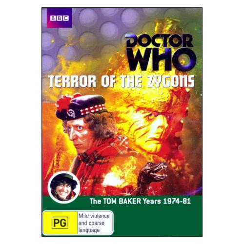 1 of 1 - Doctor Who: Terror of the Zygons DVD 2 Disc Brand New Region 4 Aust. - Tom Baker