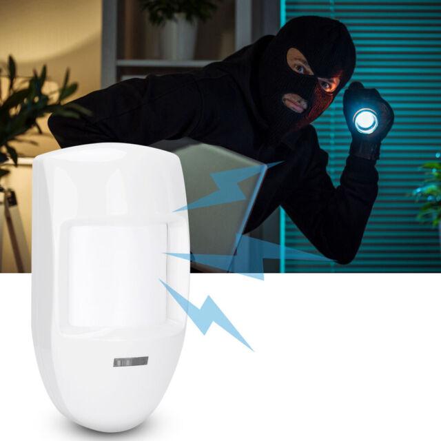 12V Infrared Detector Wired Dual PIR Motion Sensor Alarm Home Security System o
