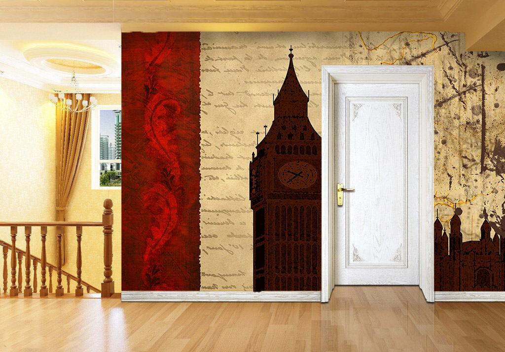 3D England Silhouette 1 WallPaper Murals Wall Print Decal Decal Decal Wall Deco AJ WALLPAPER c9afa0