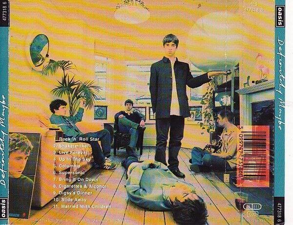 Oasis: Definitely Maybe, rock