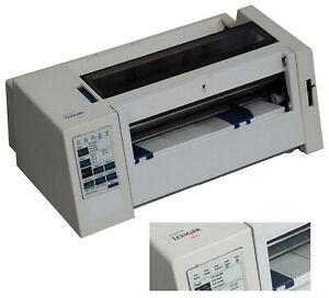 A4 dot Matrix Printer Lexmark 2380 Plus Parallel Win 7 As Oki ML 3320